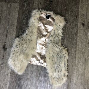 Wet Seal Fur Vest